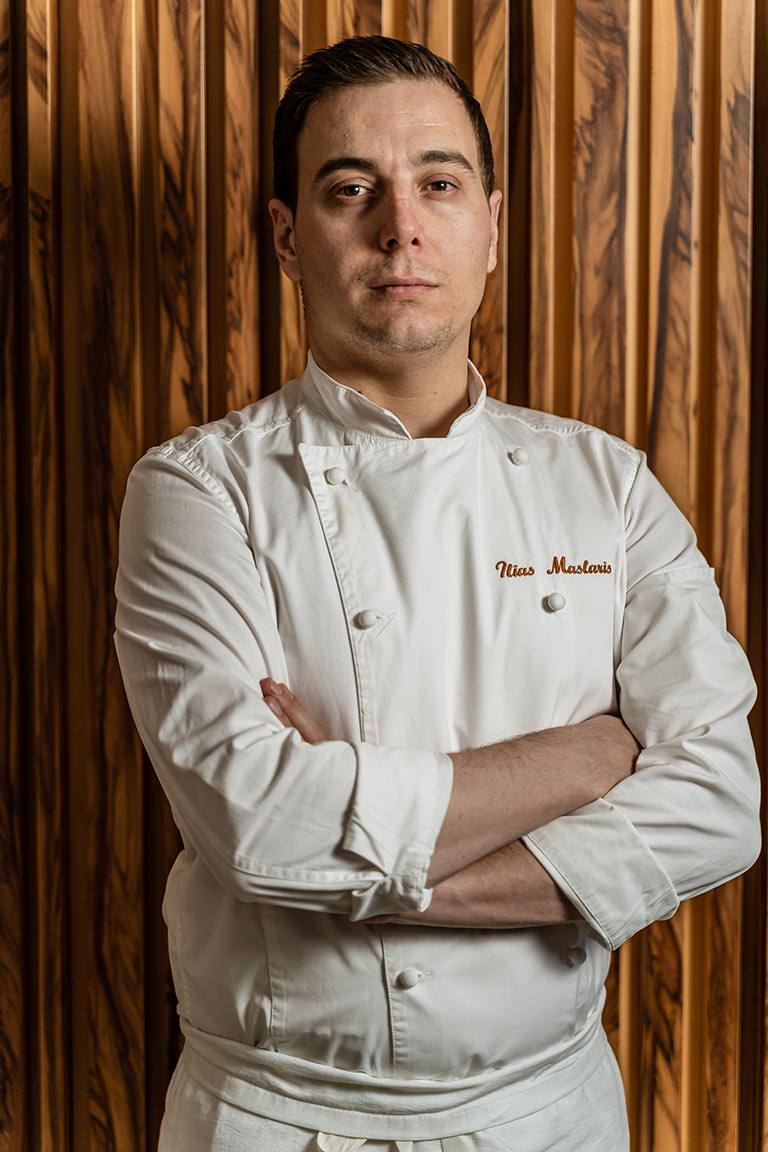 Chef Ilias Maslaris